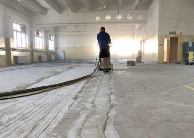 szlifowanie posadzki betonowej