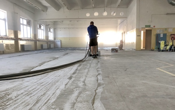 polerowanie betonu