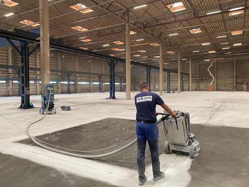remont posadzki przemysłowej